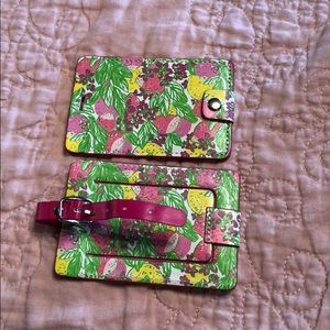 Lily Pulitzer Luggage Tags